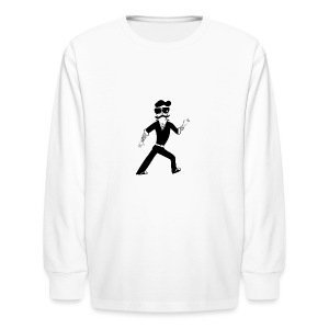 The Famous Mr Warrior - Kids' Long Sleeve T-Shirt