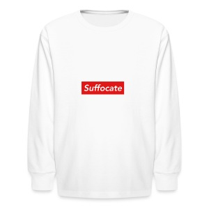 Suffocate - Kids' Long Sleeve T-Shirt
