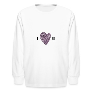 FlowHeart wikiMINI 4 - Kids' Long Sleeve T-Shirt