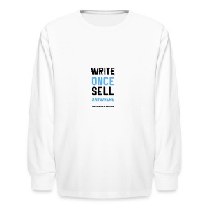 Write Once Sell Anywhere - Kids' Long Sleeve T-Shirt