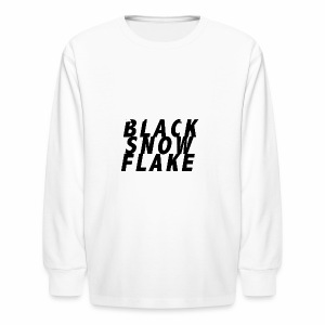 #queerblacksnowflake - Kids' Long Sleeve T-Shirt