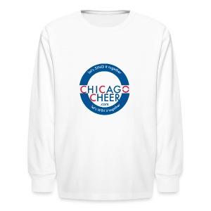 ChicagoCheer.Com - Kids' Long Sleeve T-Shirt