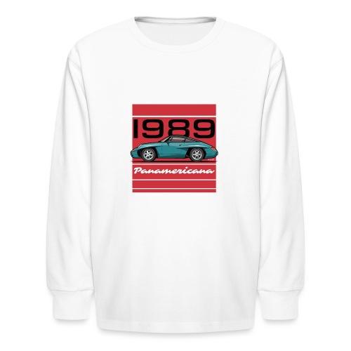 1989 P0r5che Panamericana Concept Car - Kids' Long Sleeve T-Shirt