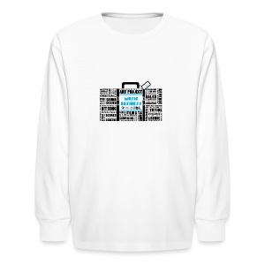 Music_Business - Kids' Long Sleeve T-Shirt