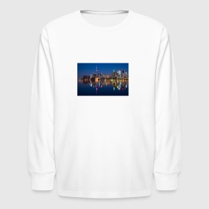 buildings 2297210 1920 - Kids' Long Sleeve T-Shirt