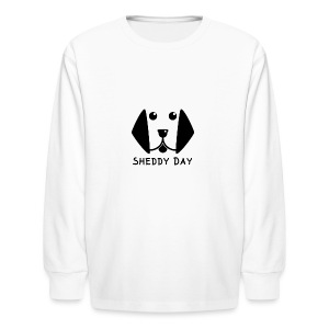 Sheddy Day - Kids' Long Sleeve T-Shirt