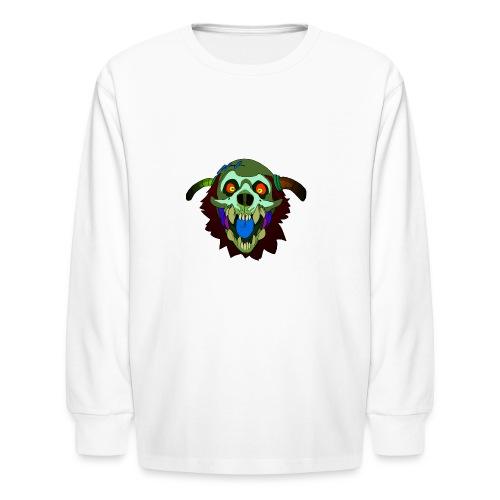 Dr. Mindskull - Kids' Long Sleeve T-Shirt