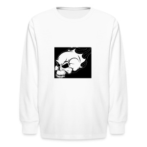 skelebonegaming merch - Kids' Long Sleeve T-Shirt