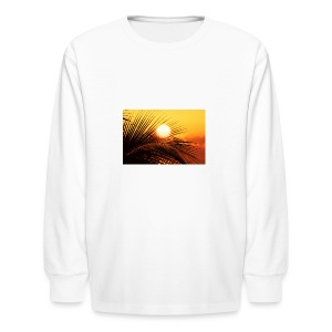 beautiful jamaica - Kids' Long Sleeve T-Shirt