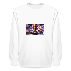 President Trump - Kids' Long Sleeve T-Shirt