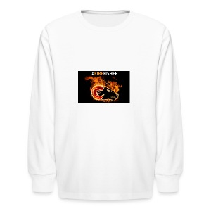 Fire_Fisher - Kids' Long Sleeve T-Shirt