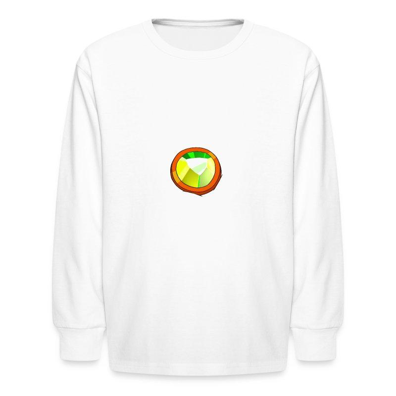 Life Crystal - Kids' Long Sleeve T-Shirt