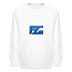 Freeze Gaming Logo - Kids' Long Sleeve T-Shirt