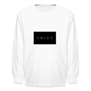 T H I C C T-shirts,hoodies,mugs etc. - Kids' Long Sleeve T-Shirt