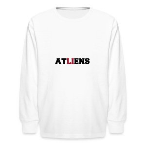 ATLIENS - Kids' Long Sleeve T-Shirt
