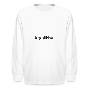 logophiliac - Kids' Long Sleeve T-Shirt