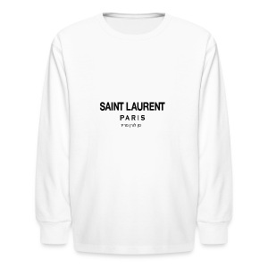 saint laurent - Kids' Long Sleeve T-Shirt