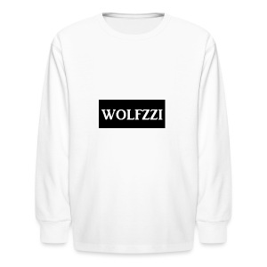 wolfzzishirtlogo - Kids' Long Sleeve T-Shirt