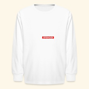 Trevor Springer (YOUTUBE EDITION) - Kids' Long Sleeve T-Shirt