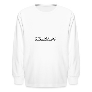 Mincraft MERCH - Kids' Long Sleeve T-Shirt