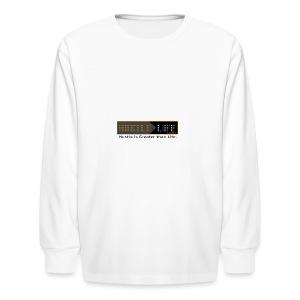 Hustle_Life - Kids' Long Sleeve T-Shirt