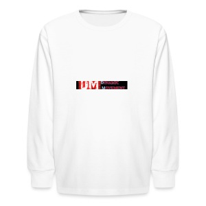 dominic-2Blogo_Easy-Resize-com - Kids' Long Sleeve T-Shirt