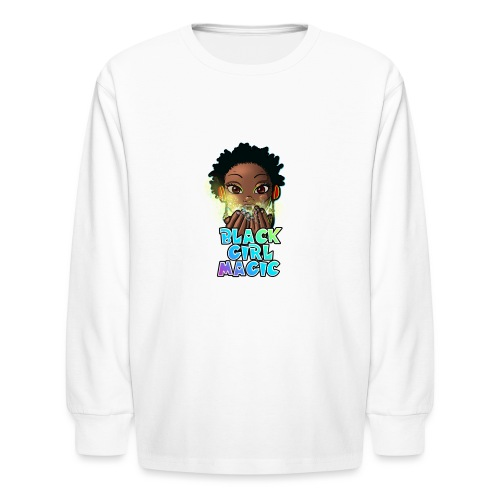 Black Girl Magic - Kids' Long Sleeve T-Shirt