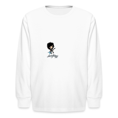 axelofabyss self portrait - Kids' Long Sleeve T-Shirt