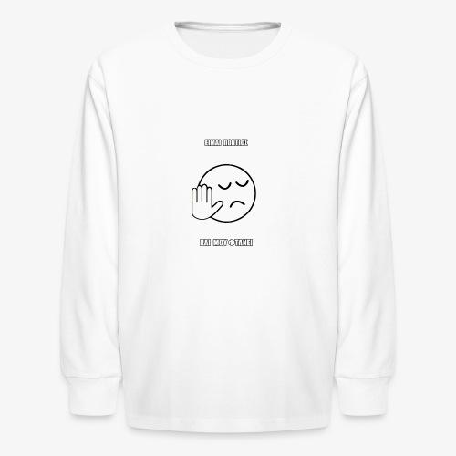 Jo Baka - Είμαι Πόντιος Και Μου Φτάνει - Kids' Long Sleeve T-Shirt