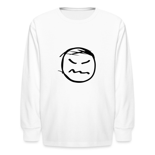 kicky head solo - Kids' Long Sleeve T-Shirt