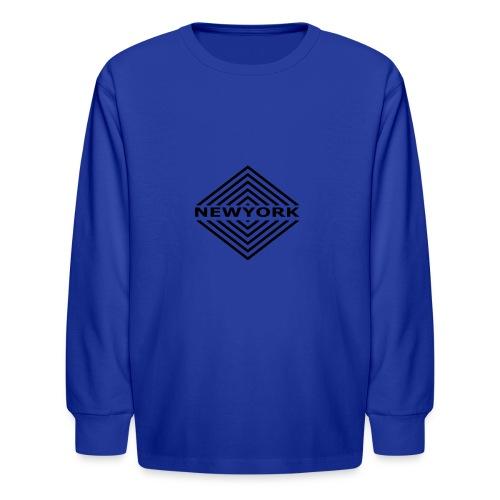 Newyork City by Design - Kids' Long Sleeve T-Shirt