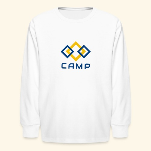 CAMP LOGO and products - Kids' Long Sleeve T-Shirt