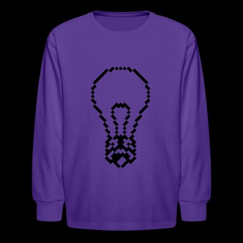 lightbulb - Kids' Long Sleeve T-Shirt