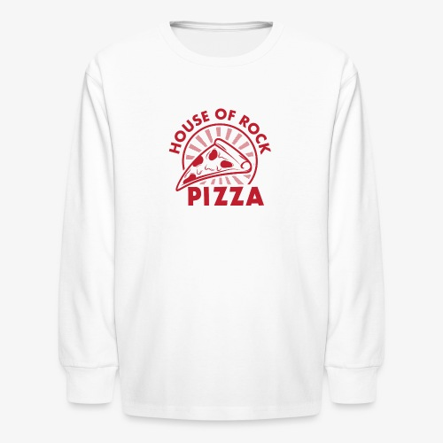 HOR Pizza Red - Kids' Long Sleeve T-Shirt