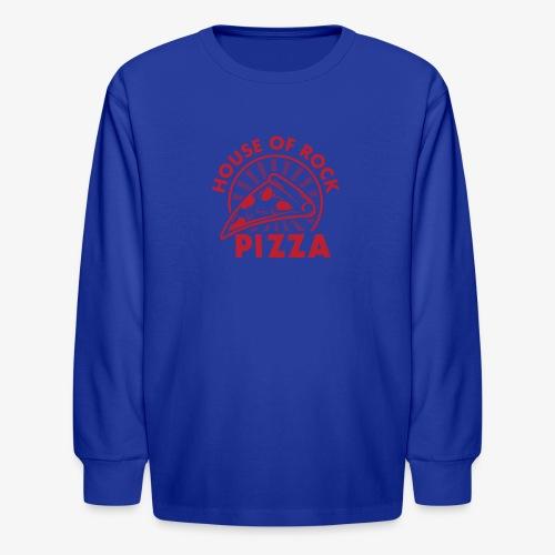 HOR Pizza Red - Kids' Long Sleeve T-Shirt