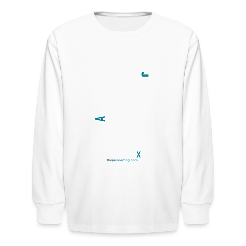 Jacksonville Streets - Kids' Long Sleeve T-Shirt