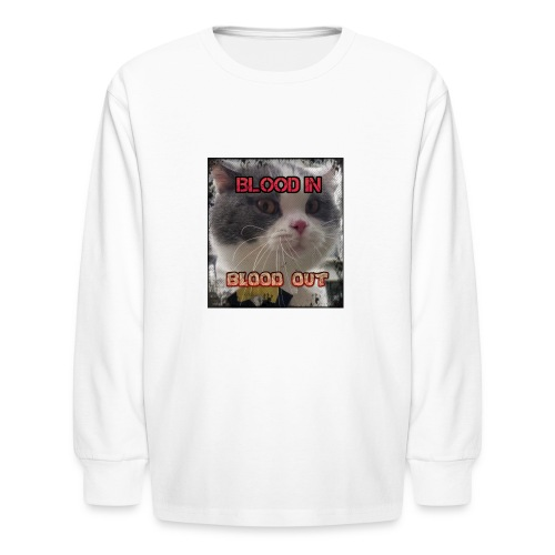 crip kity - Kids' Long Sleeve T-Shirt