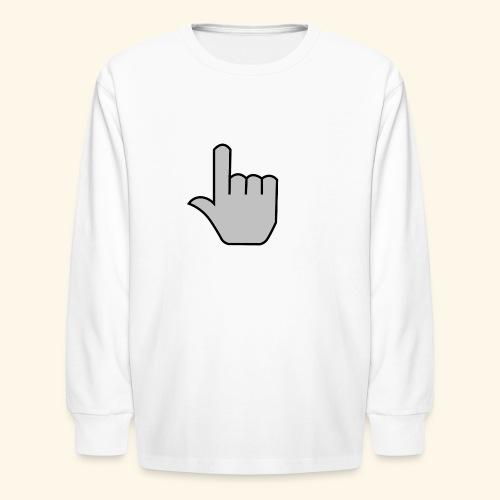 click - Kids' Long Sleeve T-Shirt