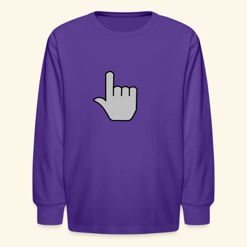 click - Kids' Long Sleeve T-Shirt