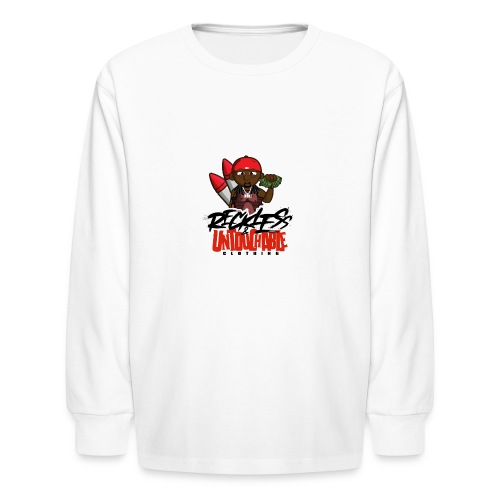 Reckless and Untouchable_1 - Kids' Long Sleeve T-Shirt