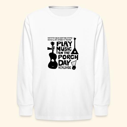 FINALPMOTPD_SHIRT1 - Kids' Long Sleeve T-Shirt