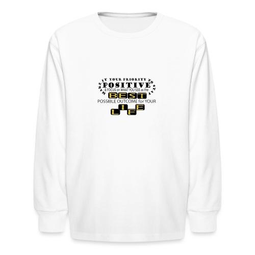PJeans3 - Kids' Long Sleeve T-Shirt