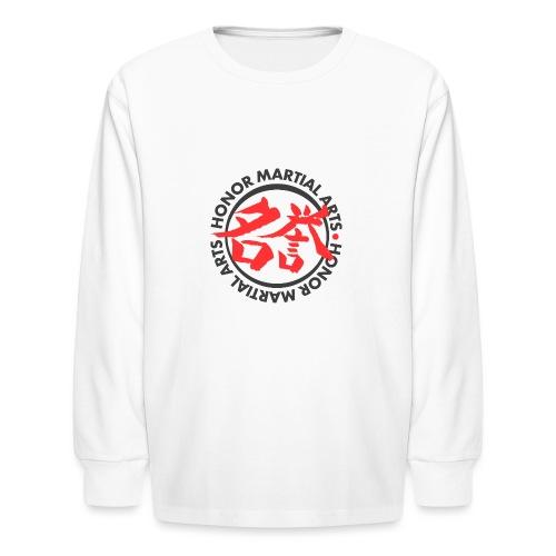 Honor Martial Arts - Kids' Long Sleeve T-Shirt