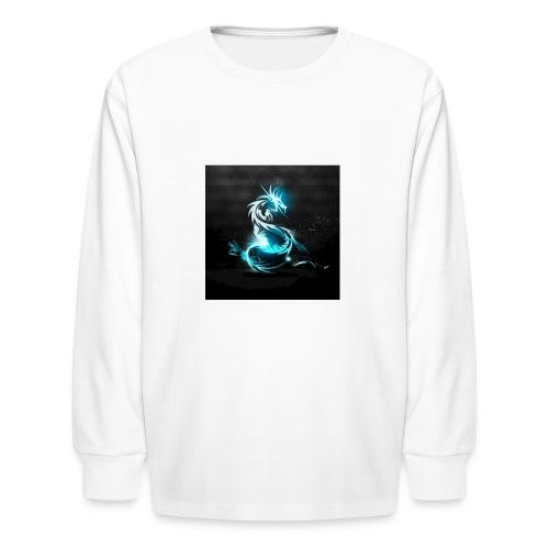 dragon light - Kids' Long Sleeve T-Shirt
