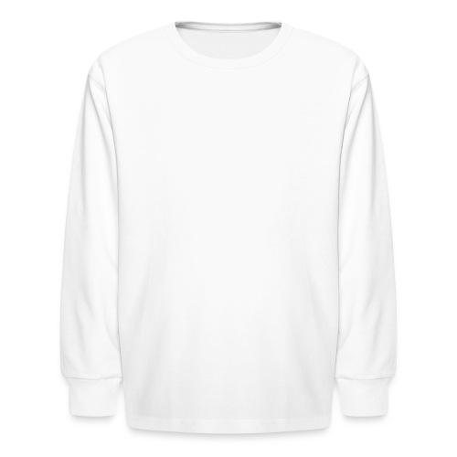 Not My President White - Kids' Long Sleeve T-Shirt