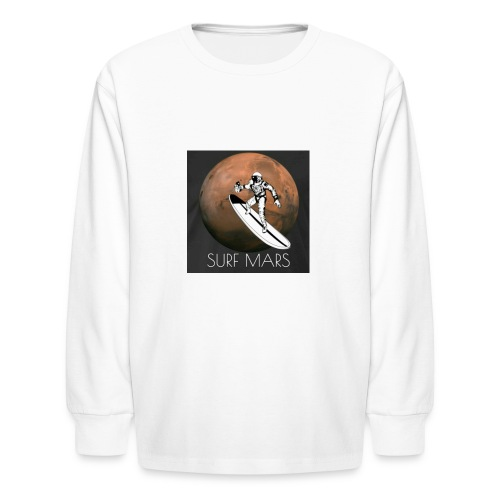 space surfer - Kids' Long Sleeve T-Shirt