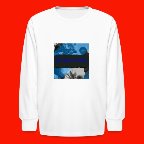 EliteGlitchersRevamp - Kids' Long Sleeve T-Shirt