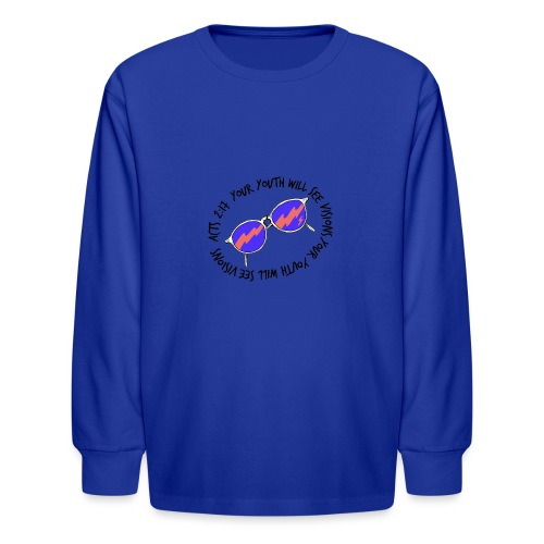 oie_transparent_-1- - Kids' Long Sleeve T-Shirt
