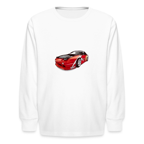 cars drift - Kids' Long Sleeve T-Shirt