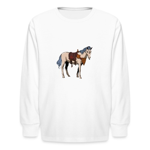 Useless the Horse png - Kids' Long Sleeve T-Shirt